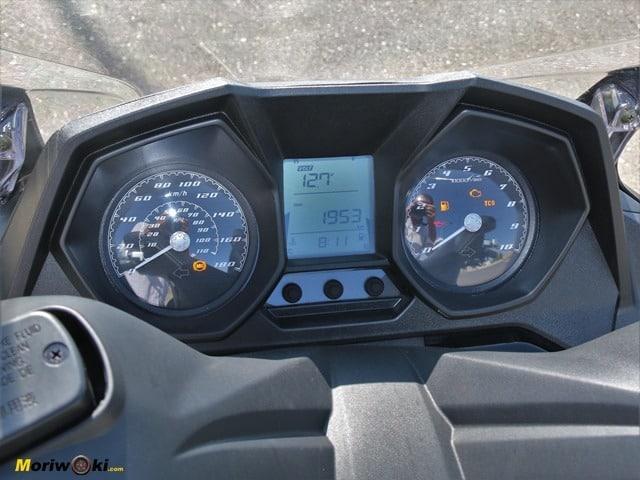 Cuadro del Kymco Super Dink 350 TCS