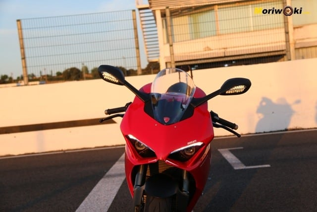El frente de la Ducati Panigale V2