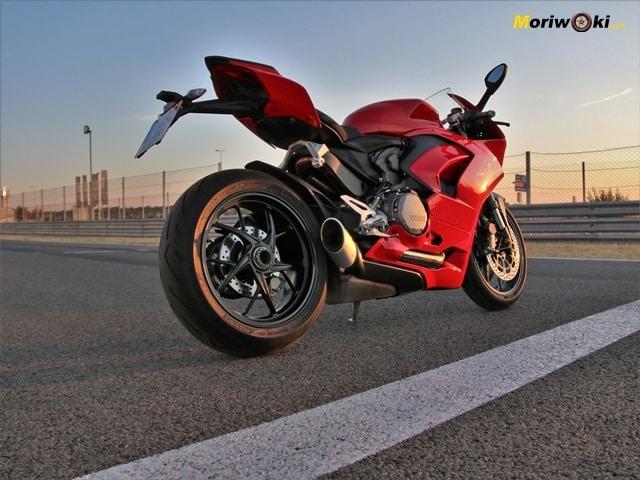 El monobrazo de la Ducati Panigale V2.