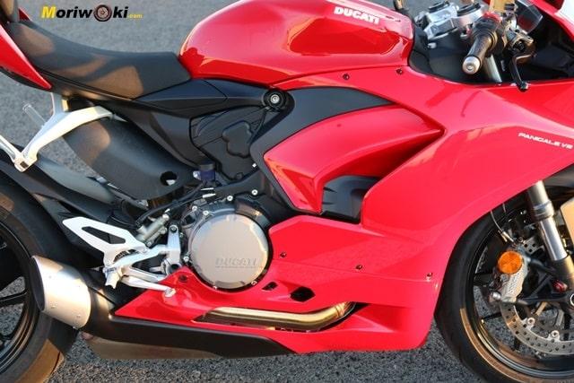 El superquadro de la Ducati Panigale V2