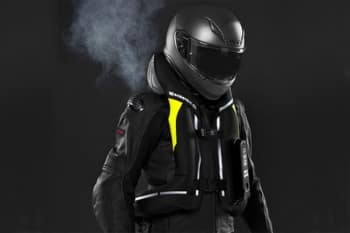 chaleco airbag negro