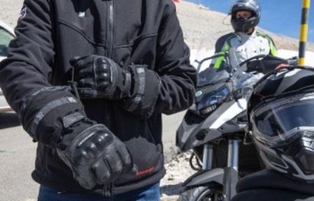 chaleco calefactable con guantes calefactables