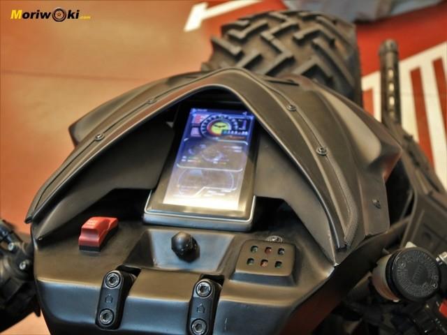 Cockpit Moto Batman Dragon TT