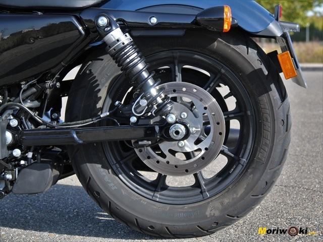 Disco trasero de la Harley Davidson Iron 1200