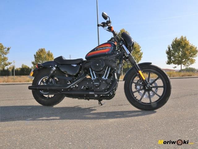 La planta de la Harley Davidson Iron 1200.