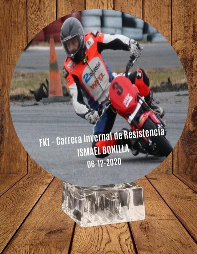 4 Horas Isma Bonilla. Trofeo