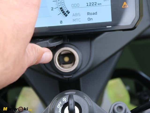 Cargador MP3. Prueba KTM 390 Adventure.