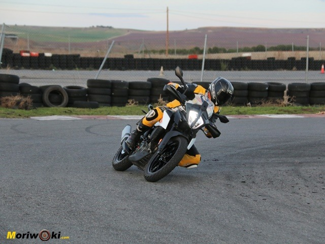 Prueba KTM 390 Adventure. El giro.
