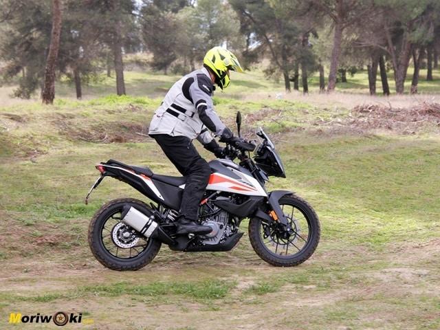 Prueba KTM 390 Adventure. Gas en barro.