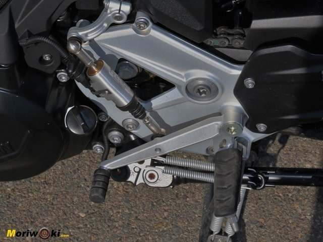 Prueba BMW F900XR Asistente cambio