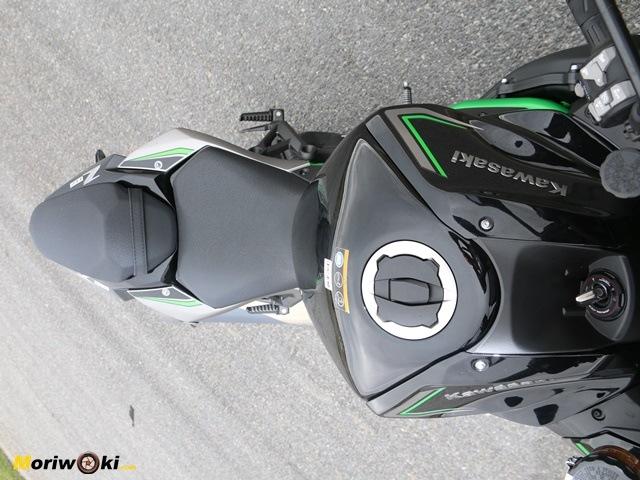 Kawasaki Z H2. Freno.