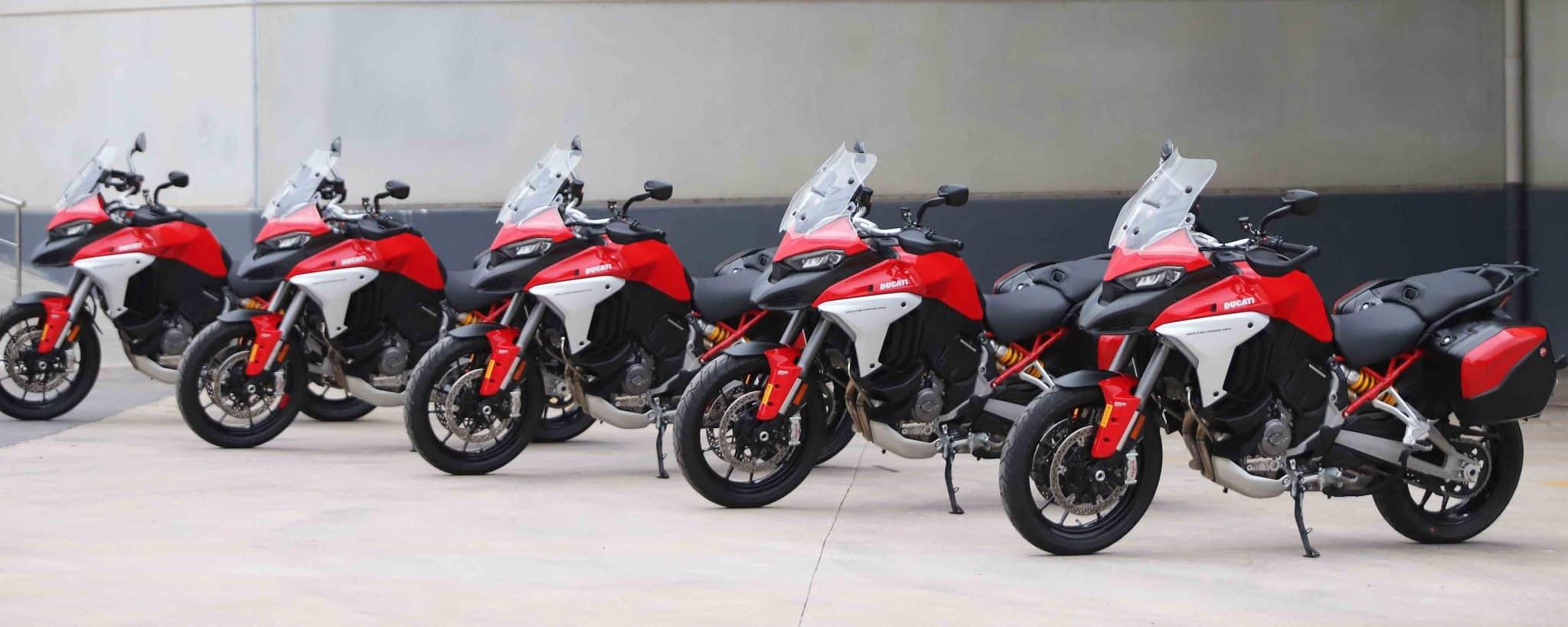 Prueba Ducati Multistrada V4: La Cuatro cilindros más Trail