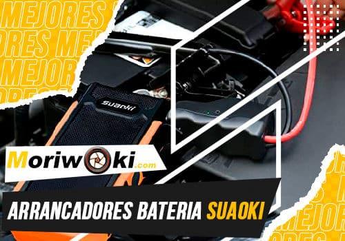 Mejores arrancadores bateria suaoki