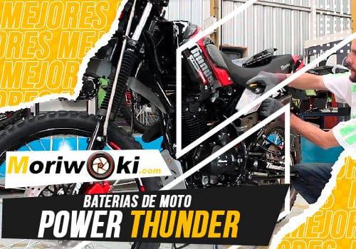 Mejores baterias de moto power thunder